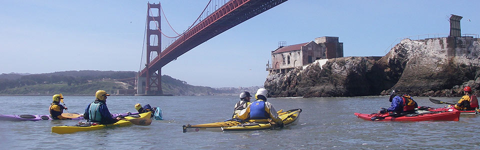 Sea Kayaking Golden Gate Bridge